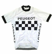 PEUGEOT RETRO CYCLING TEAM BIKE JERSEY - (Tommy Simpson)