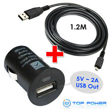 FIT FOR TomTom GPS GO ONE AC DC Auto Car Adapter Charger Power Supply DATA CORD