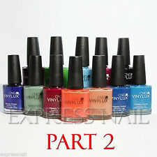 CND VINYLUX Weekly Nail Polish Lacquer 15 ml / .5 oz / 0.5oz - GENUINE! Part 2