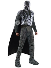 Adult Man Of Steel General Zod Outfit Fancy Dress Costume SuperVillain Superman