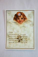 Touched By An Angel Angel Pin, by Willow & Company Greetings. Gran & Nan