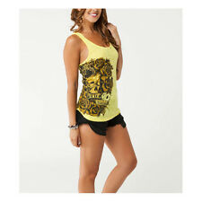 Metal Mulisha T-Shirt / Top / Tanks  gelb LADY LUCK TANK Motocross Enduro