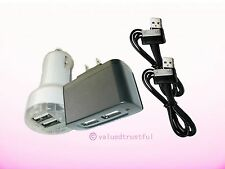 AC Adapter+Car Charger Samsung Galaxy Tab Note Android WIFI Tablet PC Power Cord