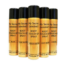 6 My Secret Root Touch Up Spray 2 oz./56.7g w/FREE Travel Shampoo a $5 Value