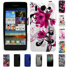 Silicone TPU Gel Bumper Case Cover Sleeve Skin For The Huawei Ascend G510