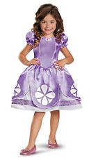 Disney Sofia The First Purple Princess Dress Classic Costume Child Girls Toddler