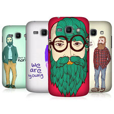 HEAD CASE OLD HIPSTER SNAP-ON BACK COVER FOR SAMSUNG GALAXY ACE 3 S7270