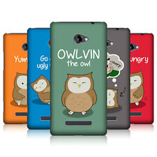 HEAD CASE OWLVIN THE OWL SNAP-ON BACK COVER FOR HTC WINDOWS PHONE 8X