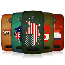 HEAD CASE FLAG MAPS SNAP-ON BACK COVER FOR NOKIA LUMIA 610