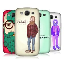 HEAD CASE OLD HIPSTERS SNAP-ON BACK COVER FOR SAMSUNG GALAXY S3 III I9300
