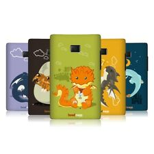 HEAD CASE LITTLE DRAGONS SNAP-ON BACK COVER FOR LG OPTIMUS L3 E400