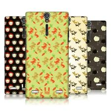 HEAD CASE CUTE ANIMAL PATTERN SNAP-ON BACK COVER FOR SONY XPERIA S LT26i