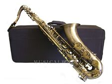 TENOR SAXOPHONE Many finishes Double Arms on low Bb & C Shop Tested & Fine-tuned