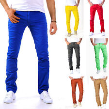 Homme Business Jeans Chino Pantalon Slim Pantalon Chinos Skinny Jeans À La Mode