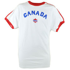 Canada World Cup Tee T-shirt Soccer Red White Futbol Mens Pacific & Co