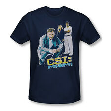 CSI Miami TV Show CBS In Perspective Adult Slim T-Shirt Tee