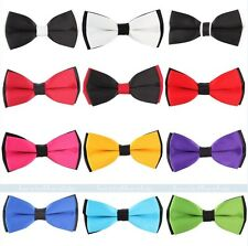 12 New Classic Mens Adjustable Tuxedo Bowtie Wedding Necktie Bow Tie Neckwear