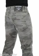 NWT True Religion Men's Geno Camo Deringer Print Slim Leg Super Cool Jeans Pants