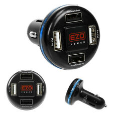 4-Port USB DC Car Charger Adapter For iPhone i Pad Samsung LG Cell Phone Tablet