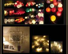 Battery Powered 20/30 LED Fairy Lights Christmas Halloween Operated (Multicolor)