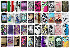 For Lg Optimus Fuel L34C Rubberized Hard Case Snap on Phone Cover Accessory