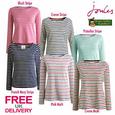 Joules Harbour Womans Long Sleeved Jersey Striped T-Shirt (R) *FREE UK SHIPPING*