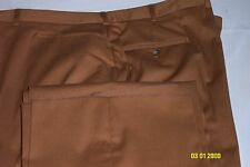NEW, Western Ginger men's pants, are made in USA of 50P/50C, Sizes; 26 thru 62