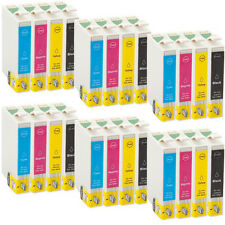 24 Ink Cartridges Replace for Epson Stylus T0711-T0714 Inkjet Series Printer