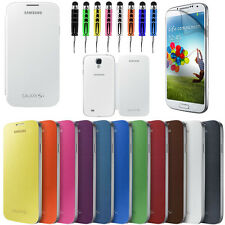 NEW FRONT & BACK BATTERY FLIP CASE COVER FOR SAMSUNG GALAXY S4 S IV I9500 I9505