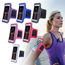 For iPhone 5 5S 5C 4 4s Sports Gym Jogging Running Armband Arm Holder Case Cover