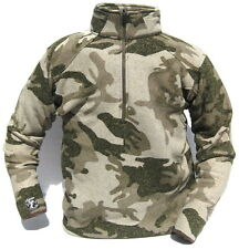 New Cabela's Alaskan Guide Thermocline 1/2 Zip Outfitter Camo 450 GRAM Pullover