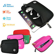 """Kozmicc Universal Neoprene Sleeve Case Cover Bag Pocket Pouch for 7"""" Inch Tablet"""