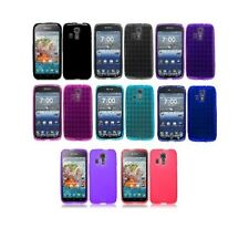 TPU Crystal Skin Gel Cover Case for Kyocera Hydro Icon C6730 LIFE C6530N Phone