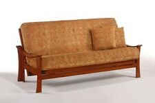 Futon Frame- Solid Wood FUJI Futon Sofa Bed Frame- FULL or QUEEN size