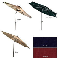 Aluminum 9-foot Auto-tilt Market Umbrella