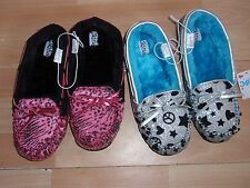 NWT GIRLS JUSTICE SHOES SLIPPERS OXFORDS SILVER OR PINK SZ 6, 7 U PICK!!!