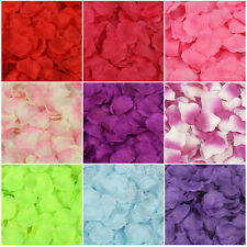100pcs Simulation Rose Petals Wedding Party Table Supplies Confetti Decorations