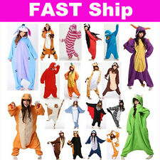 FAST Animal Onesies Adult Kigurumi Cosplay Costume Pyjamas Pajamas Sleepwear