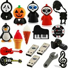 8GB 16GB 32GB Novelty Cute Horror USB Flash Memory Stick Pen Thumb Drive Gift