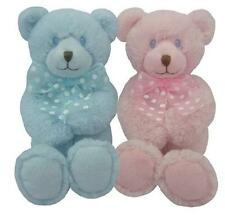 "First & Main Baby 5"" Baby Dean Huggums Plush Teddy Bear in Pink or Blue NWT"