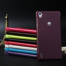 Luxury Flip BOOK Leather Case Cover For Huawei Ascend P7