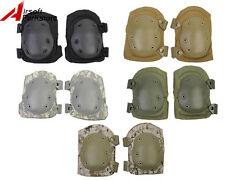 Airsoft Tactical Paintball Military Army Cycling Soft Knee Protective Pads A