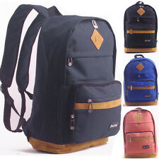 New Style Women Men Outdoor Backpack Nylon Laptop School Shoulder Bag Rucksacks