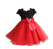 Jeansian Girls Pageant Wedding Bridesmaid Party Princess Dress 4 Color CG004