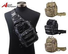 1000D Molle Tactical Military Hiking Utility Shoulder Bag Pouch Backpack 3 Color