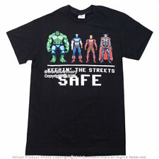 New Marvel Avengers Hulk, Captain America, Iron Man, Thor Licensed T-shirt