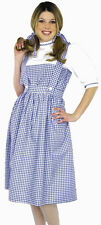 Sexy Adult Halloween Dorothy Wizard of Oz Dress Costume