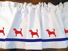 Beagle Dog Window Valance *Your Choice of Colors* Our Original!