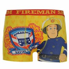 Character Kids Boys Fireman Sam Single Boxer Shorts Printed Underwear Infant