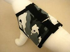 Halloween Camo Ghost Dog Harness Vest Clothes Apparel